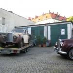 Bentley MK VI und Rolls Royce Silver Cloud