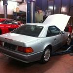 Freie Werkstatt für Mercedesfahrzeuge Berlin - R129