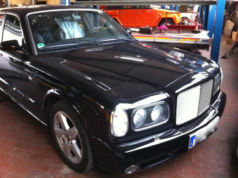 Bentley Arnage Freie Werkstatt Berlin