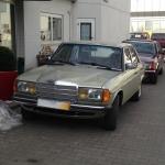 Mercedes Benz W123 und Mercedes Benz W126