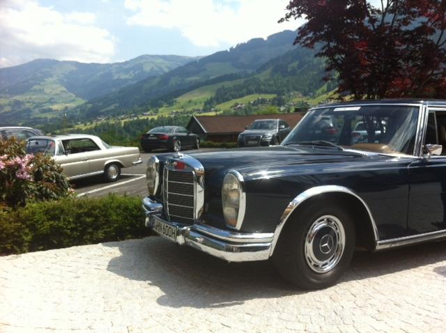 Der perfekte Reisewagen Mercedes Benz 600 GROSSER W100