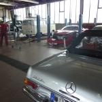 Freie Werkstatt für Mercedesfahrzeuge Berlin - Pagode 280 SL