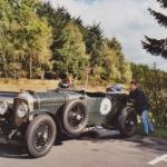Bentley Le Mans 4,5 Liter am Nürburgring mit den Pinguinen