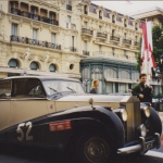 Rolls Royce Silver Wraith Rally Monte Carlo am Ziel