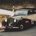 Rolls Royce Silver Wraith - die Pinguine fahren Rally Monte Carlo