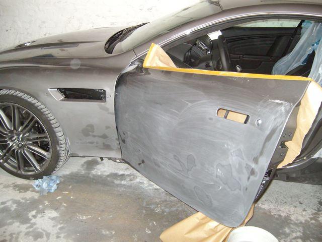 Aston Martin DBS Freie Astonfahrzeug Werkstatt Lackschaden
