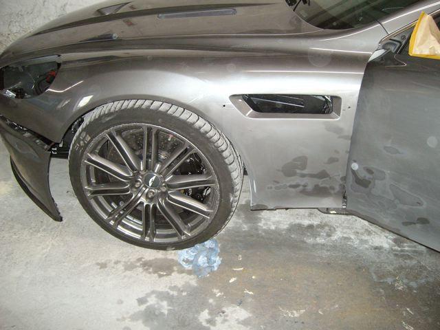 Aston Martin DBS Freie Astonfahrzeug Werkstatt Unfallschaden