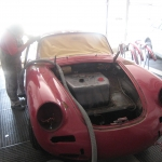 Oldtimer Restauration Berlin Porsche 356