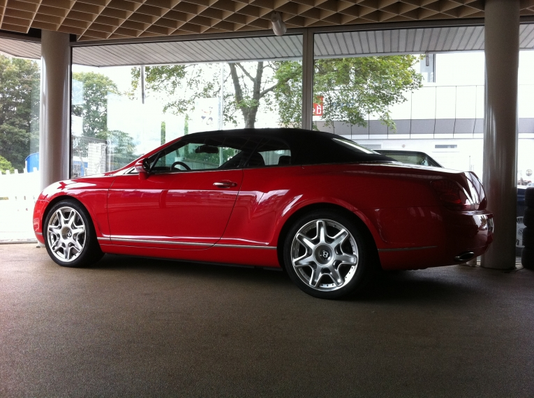 Bentley Continental GTC Cabrio