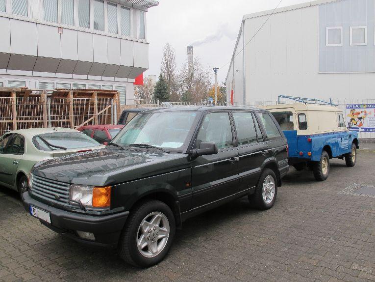 Range Rover in Werkstatt Berlin