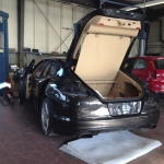 Porsche Panamera Unfallschaden Beseitigung und Inspektion