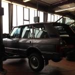 Freie Range Roverfahrzeuge Werkstatt Berlin