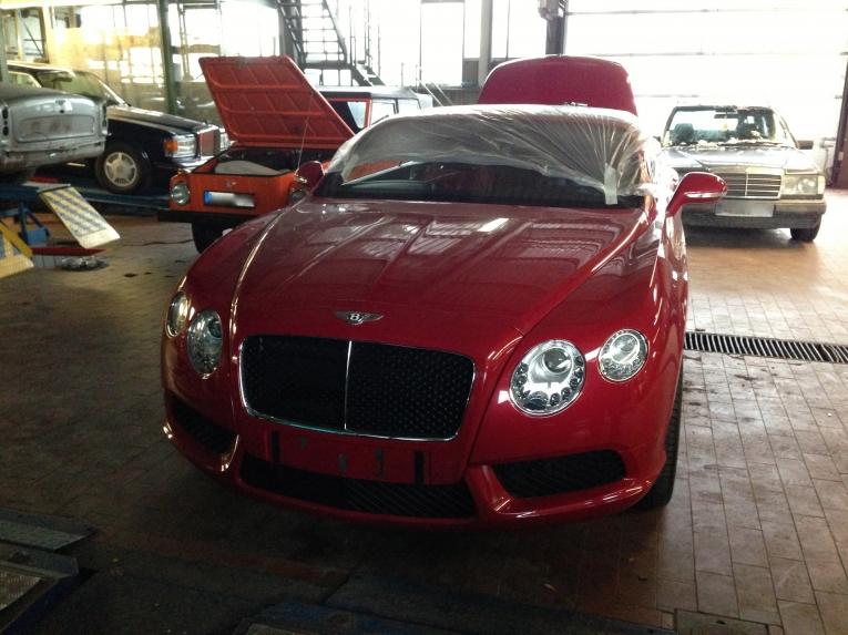 Freie Bentley-Fahrzeug Werkstatt Berlin