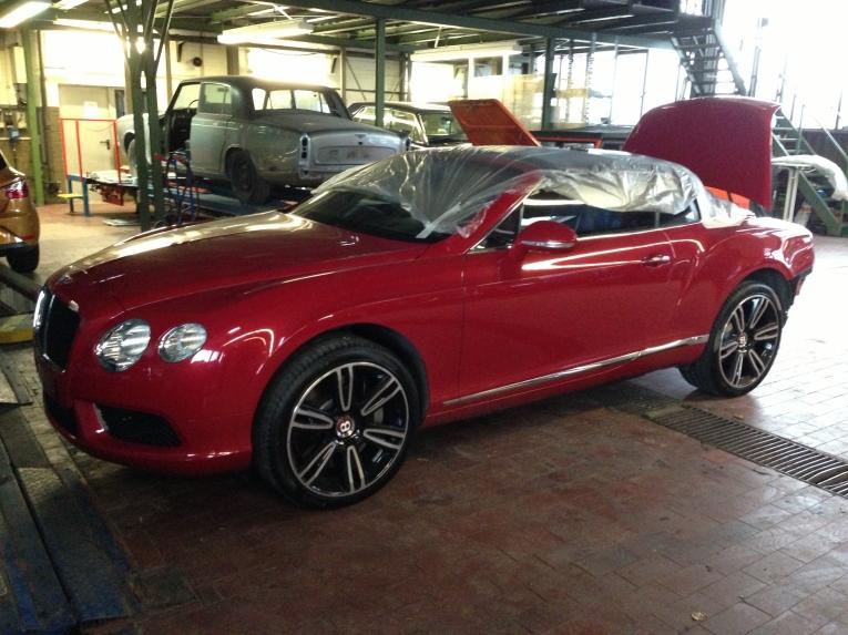 Freie Bentleyfahrzeug Werkstatt Berlin
