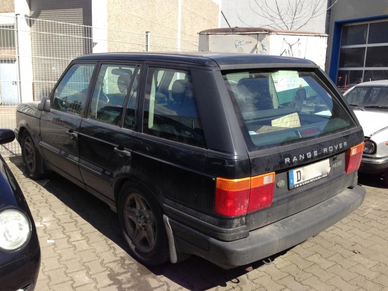 Freie Range Rover-Fahrzeug Werkstatt Berlin