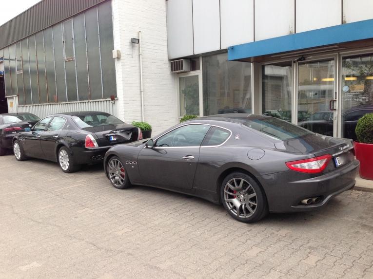 Maserati Fahrzeuge freie Werkstatt Berlin
