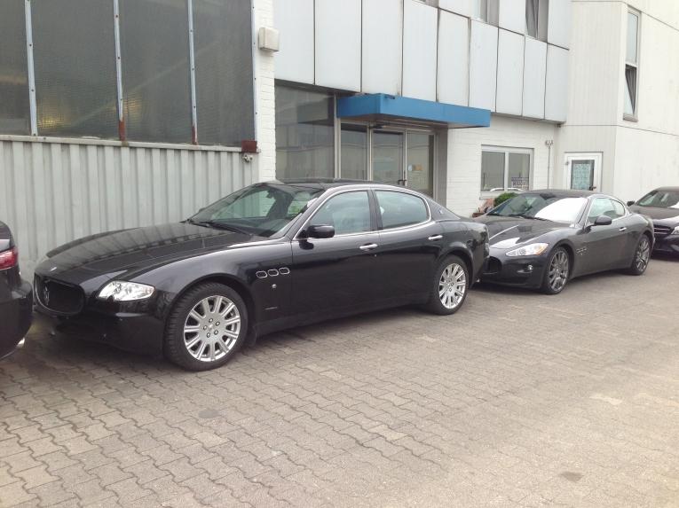 Maserati-Fahrzeuge freie Werkstatt Berlin