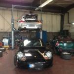 Porsche Fahrzeuge Service, Wartung, Inspektion