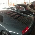 Jaguar XK 150 und Lamborghini