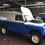 Freie Land Roverfahrzeug Werkstatt - Werbefahrzeugbau Berlin
