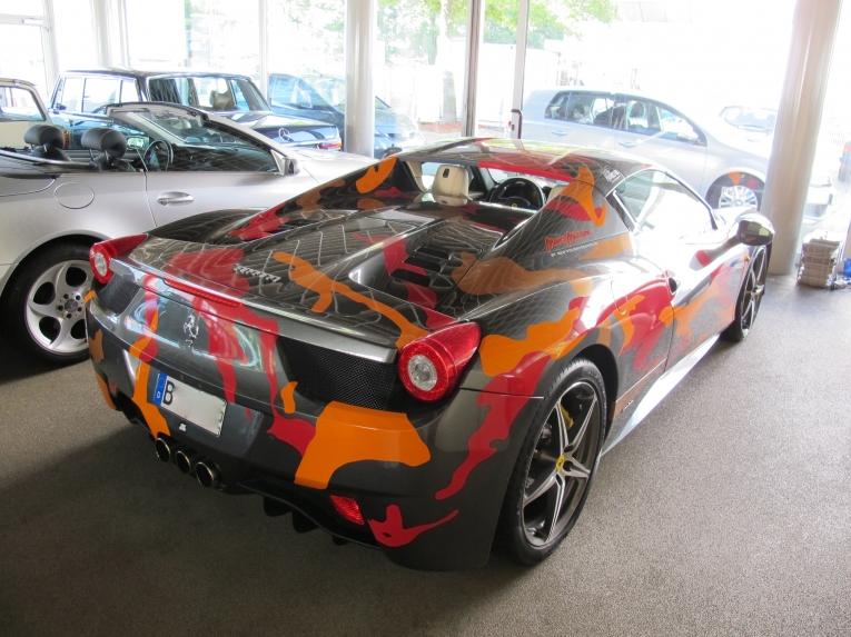 Freie Ferrari-Fahrzeug Werkstatt Berlin