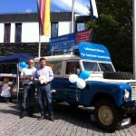 Freie Land Roverfahrzeug Werkstatt Berlin Spandau - Werbefahrzeugbau