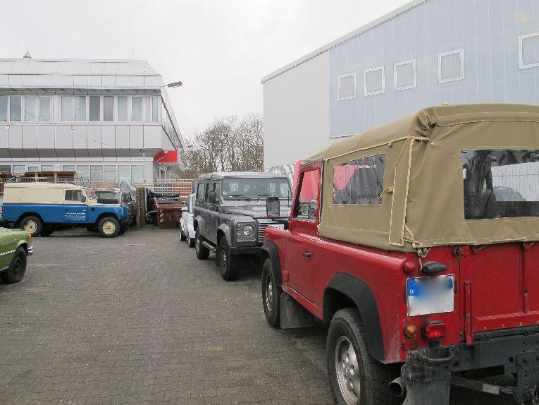 Land Rover Serie und Land Rover Defender