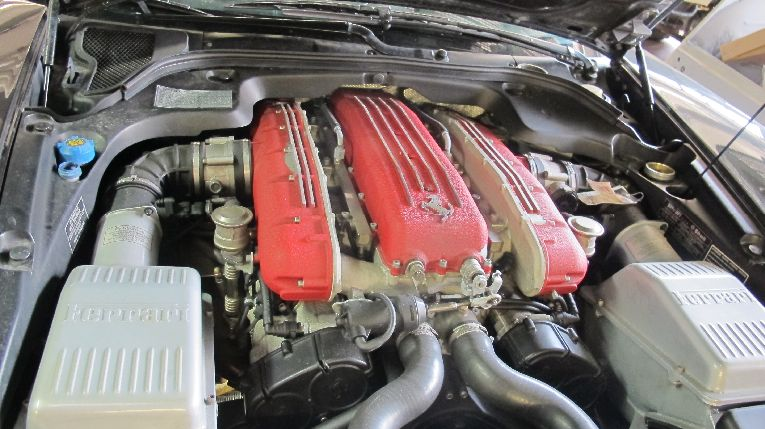 Ferrari 12 Zylinder Motor