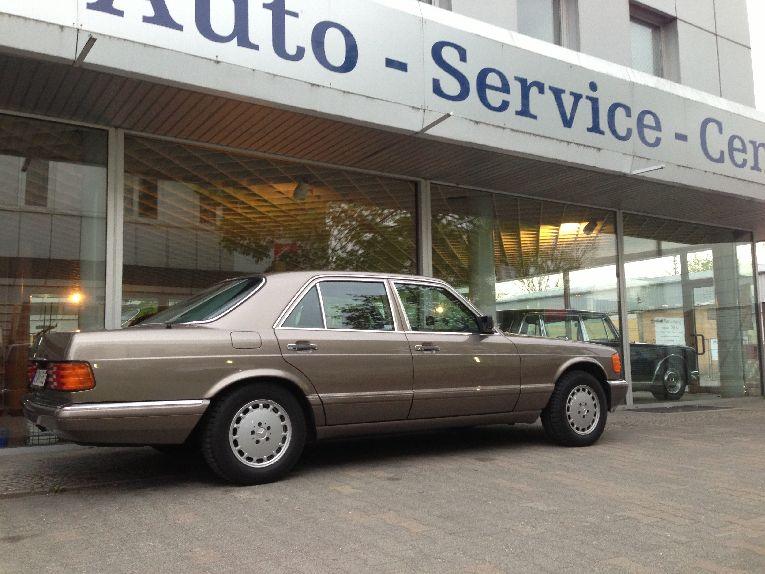 Freie Mercedes S-Klasse Fahrzeug Werkstatt Berlin