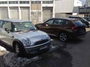 BMW 1 und BMW Mini