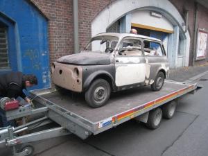 Fiat 500 Vollrestauration Berlin
