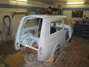 Fiat 600 Vollrestauration Berlin