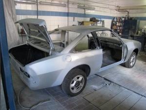 Opel Manta Vollrestauration Berlin