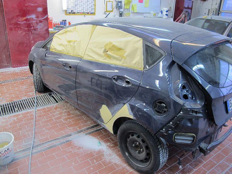 Ford Fiesta Autolackiererei