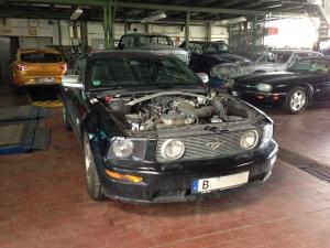 Ford Mustang Fahrzeug Wartung, Service, Inspektion