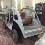 Citroen 2CV Ente Restauration