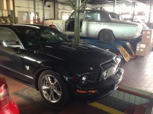 Ford Mustang Tuning - eine richtige Motorhaube