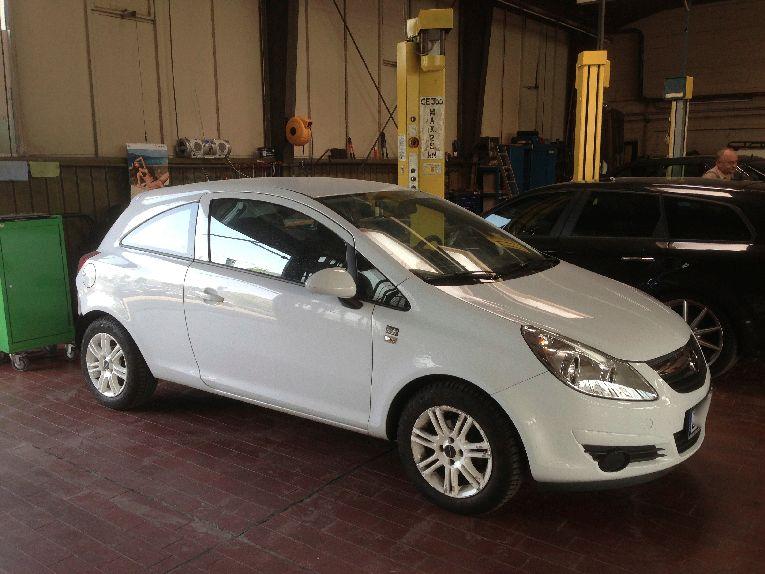 Opel Corsa Service, Wartung, Inspektion