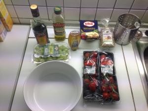 Pinguin Salat hausgemacht