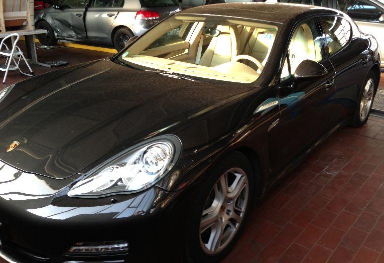 Porsche Panamera Lackschaden in Berlin beseitigen