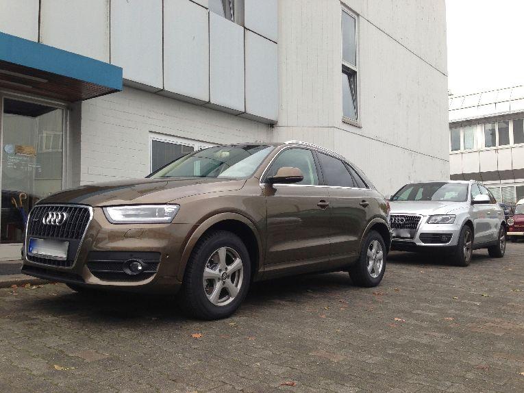 Lackschaden Audi beseitigen in Berlin